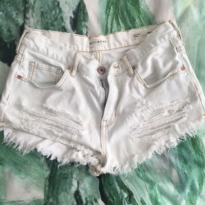 High waist denim shorts pacsun